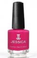 JESSICA® lakier MINI 7,4ml do paznokci 128 Raspberry