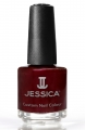 JESSICA® lakier MINI 7,4ml do paznokci 290 Merlot