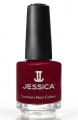 JESSICA® lakier MINI 7,4ml do paznokci 222 Winter Berries