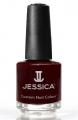 JESSICA® lakier MINI 7,4ml do paznokci 234 Cherrywood