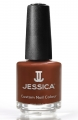 JESSICA® lakier MINI 7,4ml do paznokci 435 Chocolate Passion