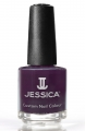 JESSICA® lakier MINI 7,4ml do paznokci 460 Midnight Affair