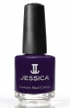 JESSICA® lakier MINI 7,4ml do paznokci 639 For Your Eyes Only