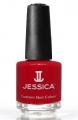 JESSICA® lakier MINI 7,4ml do paznokci 120 Royal Red