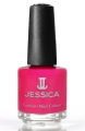 JESSICA® lakier MINI 7,4ml do paznokci 655 Hi Res Raspberry