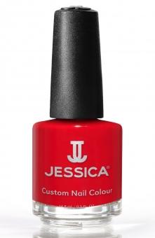 JESSICA® lakier MINI 7,4ml do paznokci 667 Scarlet