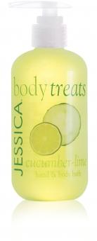 JESSICA® Cucumber&Lime Bath - kąpiel o zapachu ogórka i limon