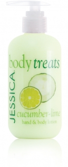 JESSICA® Cucumber-Lime Lotion- balsam o zapachu ogórka