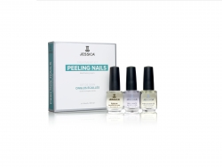 JESSICA® Peeling Nails Kit - zestaw do paznokci rozdwajających się
